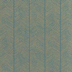 BW45085-4 HERRINGBONE Teal GP & J Baker Wallpaper