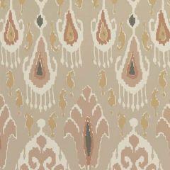 BW45090-1 IKAT BOKHARA Blush GP & J Baker Wallpaper