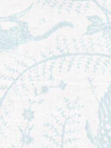 6770-01 CIREBON Pale Aqua on White Quadrille Fabric