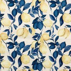 CORREA Cobalt Magnolia Fabric