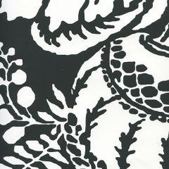 CP1040W-08 ANTOINETTE Black On White Quadrille Wallpaper