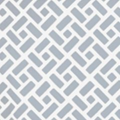 6690WP-04W EDO Grey On White Quadrille Wallpaper