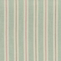F1046/05 SACKVILLE STRIPE Mineral Blush Clarke & Clarke Fabric