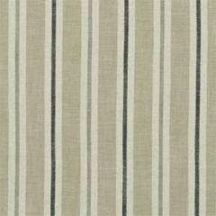 F1046/06 SACKVILLE STRIPE Natural Clarke & Clarke Fabric