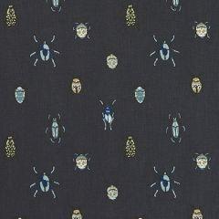 F1095/02 BEETLE Mineral Clarke & Clarke Fabric