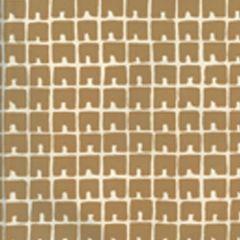 4045-07WP FEZ II Gold Metallic On Off White Quadrille Wallpaper