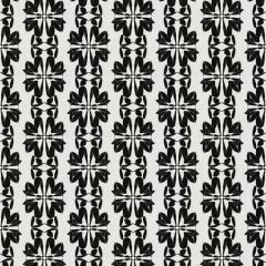FIGURATIVE Black Fabricut Fabric