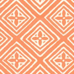 2490-24WP FIORENTINA Orange On Off White Quadrille Wallpaper