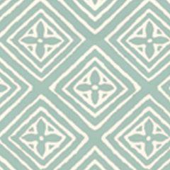 2490-47WP FIORENTINA French Green On Almost White Quadrille Wallpaper