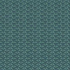 GWF-3320-513 CHENGTUDOOR EMB Blue Aqua Groundworks Fabric
