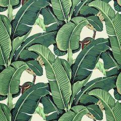 HN 0001 42010 HINSON PALM Green Scalamandre Fabric
