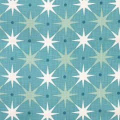 HN 0002 42023 STAR POWER Aqua Scalamandre Fabric