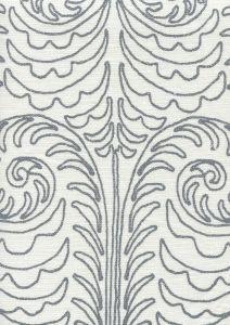 HC1230W-12 GYPSY DANCE Silver Streak on Off White Quadrille Fabric