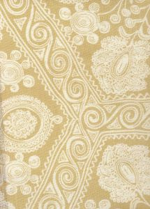 HC1910B-00 MELANIE BACKGROUND Vanilla on Tint Quadrille Fabric