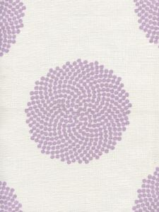 HC1350-04 MYSTERY Lilac on Ivory Quadrille Fabric