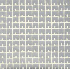 4045-06WP FEZ II Silver Metallic Off White Quadrille Wallpaper