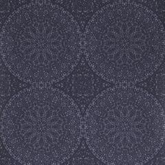 50040W ADULARA Navy 02 Fabricut Wallpaper