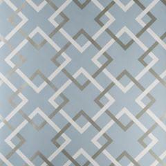 50174W CARREFOURS Catalina Blue 02 Fabricut Wallpaper
