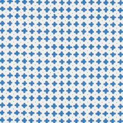 178240 POLKA Blue Schumacher Fabric