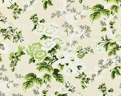16602-001 ASCOT LINEN PRINT Verdure Scalamandre Fabric