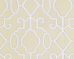 27012-001 MING FRETWORK Alabaster Scalamandre Fabric