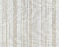27046-001 MONTAUK STRIPE SHEER Linen Scalamandre Fabric