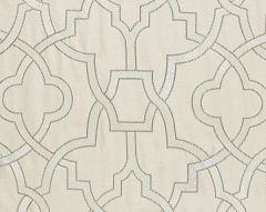 27073-001 DAMASCUS EMBROIDERY Alabaster Scalamandre Fabric