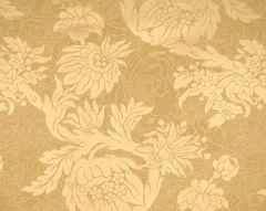 26695-002 DAMAS PARC MONCEAU Yellow Scalamandre Fabric