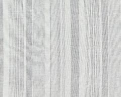 27046-002 MONTAUK STRIPE SHEER Fog Scalamandre Fabric