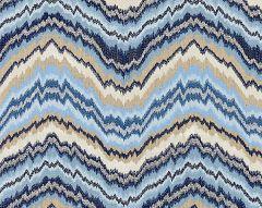 27096-002 BERGAMO EMBROIDERY Indigo Scalamandre Fabric