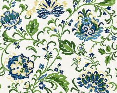 27173-002 DELPHINE EMBROIDERY Jardin Scalamandre Fabric