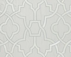 27073-003 DAMASCUS EMBROIDERY Pearl Grey Scalamandre Fabric