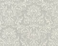 27094-003 SAN LUCA DAMASK Pearl Grey Scalamandre Fabric