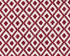 27098-003 MALAY IKAT WEAVE Raspberry Scalamandre Fabric
