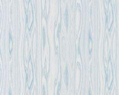 27142-003 FAUX BOIS WEAVE Blue Ice Scalamandre Fabric