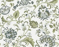 27173-003 DELPHINE EMBROIDERY Ash Scalamandre Fabric