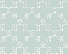 WP88373-003 SUZHOU LATTICE Aquamarine Scalamandre Wallpaper