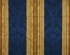 26166-004 SANTA MARGARITA Multi On Cobalt Scalamandre Fabric