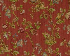 26847-004 FLEUR DES INDES Multi On Coral Scalamandre Fabric
