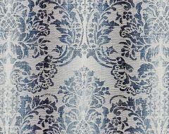 27093-004 SORRENTO LINEN DAMASK Indigo Scalamandre Fabric