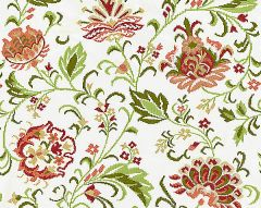 27173-004 DELPHINE EMBROIDERY Blossom Scalamandre Fabric