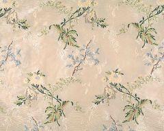 96100M-004 BROCART DE LYON Multicolor On Ivory Scalamandre Fabric