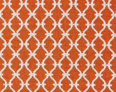 27009-005 TRELLIS WEAVE Mandarin Scalamandre Fabric