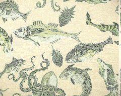 SC 0005WP81545 MIKONOS Green Eggshell Scalamandre Wallpaper