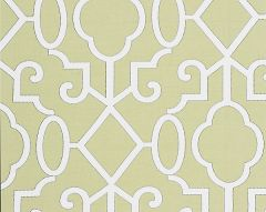 SC 0005WP88356 MING FRETWORK Pear Scalamandre Wallpaper
