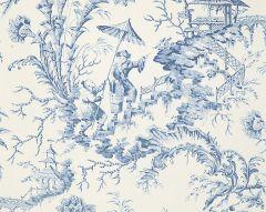 SC 0011WP81561 PILLEMENT TOILE China Blue Scalamandre Wallpaper