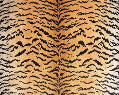 YS 00010691 TIGER Brwn Gold Scalamandre Fabric
