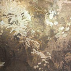 LZW-30196-01 METAL WILD GARDEN METALLIC Kravet Wallpaper