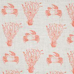 CRAB Pink Sand Katie Ridder Fabric