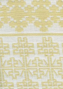 010950T ADOBE HANDSTITCH Ivory Ecru Quadrille Fabric